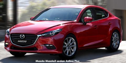 Mazda Mazda3 sedan 2.0 Astina Plus