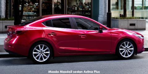 Mazda Mazda3 sedan 2.0 Astina Plus - Image credit: © 2018 duoporta. Generic Image shown.