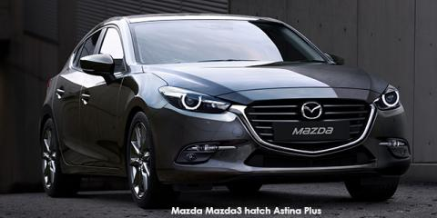 Mazda Mazda3 hatch 2.0 Astina Plus - Image credit: © 2019 duoporta. Generic Image shown.