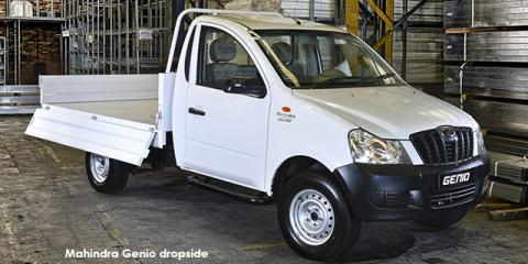 Mahindra Genio 2.2CRDe dropside - Image credit: © 2018 duoporta. Generic Image shown.