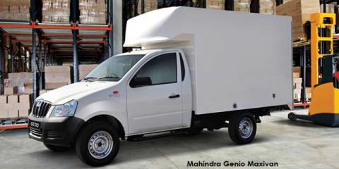 Mahindra Genio 2.2CRDe Maxivan - Image credit: © 2018 duoporta. Generic Image shown.