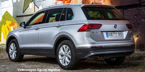 Volkswagen Tiguan 1.4TSI Comfortline auto - Image credit: © 2018 duoporta. Generic Image shown.