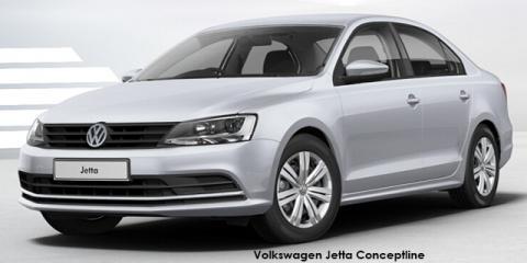 Volkswagen Jetta 1.6 Conceptline - Image credit: © 2018 duoporta. Generic Image shown.