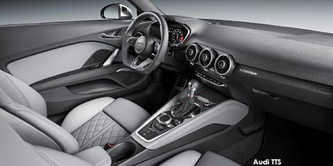 Audi TTS coupe 2.0T quattro - Image credit: © 2018 duoporta. Generic Image shown.