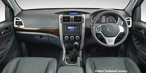 Foton Tunland 2.8 double cab off-road Luxury Granite