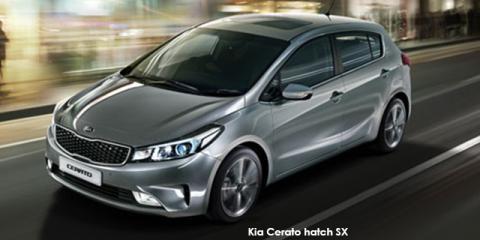 Kia Cerato hatch 1.6 EX auto