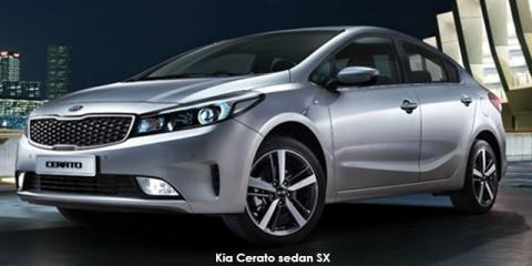 Kia Cerato sedan 1.6 SX auto