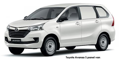 Toyota Avanza 1.3 S panel van