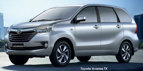Toyota Avanza 1.3 SX - Image credit: © 2018 duoporta. Generic Image shown.