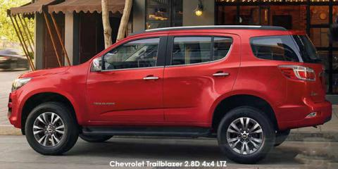 Chevrolet Trailblazer 2.8D 4x4 LTZ