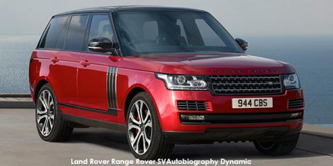 Land Rover Range Rover Supercharged SVAutobiography Dynamic