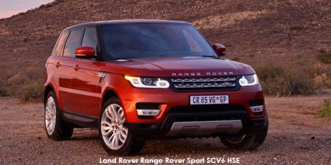 Land Rover Range Rover Sport SCV6 HSE