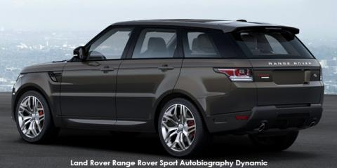 Land Rover Range Rover Sport Supercharged Autobiography Dynamic