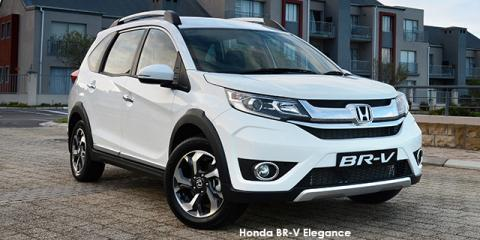 Honda BR-V 1.5 Elegance auto - Image credit: © 2018 duoporta. Generic Image shown.