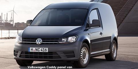 Volkswagen Caddy 1.6 panel van - Image credit: © 2018 duoporta. Generic Image shown.