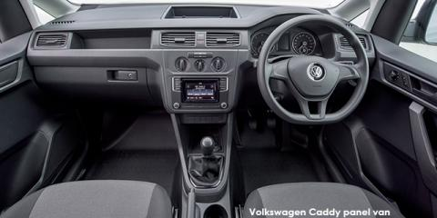 Volkswagen Caddy 1.6 panel van - Image credit: © 2018 duoporta. Generic Image shown.