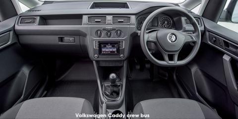 Volkswagen Caddy Maxi 2.0TDI crew bus - Image credit: © 2018 duoporta. Generic Image shown.