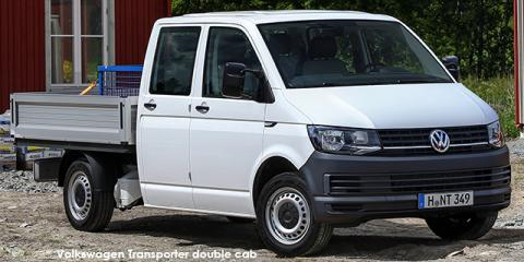 Volkswagen Transporter 2.0TDI double cab - Image credit: © 2018 duoporta. Generic Image shown.