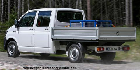 Volkswagen Transporter 2.0BiTDI double cab auto - Image credit: © 2018 duoporta. Generic Image shown.