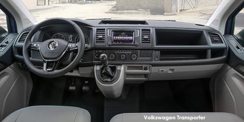 Volkswagen Transporter 2.0TDI panel van LWB auto - Image credit: © 2018 duoporta. Generic Image shown.