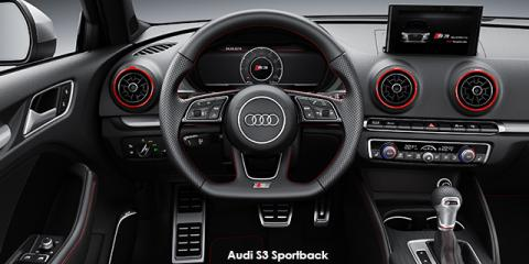Audi S3 Sportback quattro - Image credit: © 2018 duoporta. Generic Image shown.