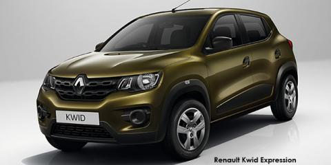 Renault Kwid 1.0 Expression - Image credit: © 2018 duoporta. Generic Image shown.
