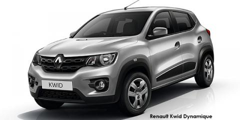 Renault Kwid 1.0 Dynamique - Image credit: © 2019 duoporta. Generic Image shown.