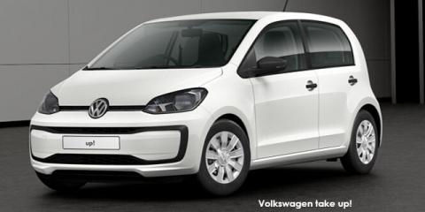 Volkswagen take up! 5-door 1.0 - Image credit: © 2019 duoporta. Generic Image shown.