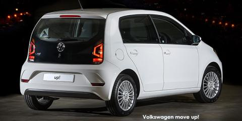 Volkswagen move up! 5-door 1.0 - Image credit: © 2018 duoporta. Generic Image shown.