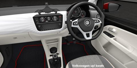 Volkswagen up! beats 5-door 1.0 - Image credit: © 2018 duoporta. Generic Image shown.