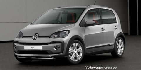 Volkswagen cross up! 5-door 1.0 - Image credit: © 2019 duoporta. Generic Image shown.