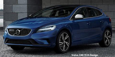 Volvo V40 T4 R-Design auto - Image credit: © 2019 duoporta. Generic Image shown.