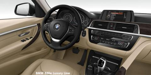 BMW 330e eDrive Luxury Line - Image credit: © 2018 duoporta. Generic Image shown.