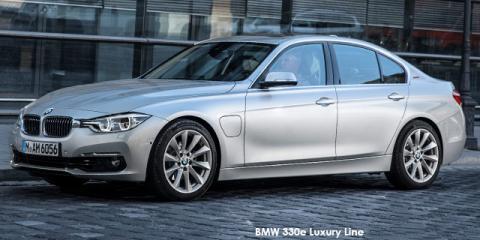 BMW 330e eDrive Sport Line - Image credit: © 2018 duoporta. Generic Image shown.
