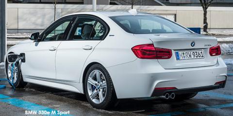 BMW 330e eDrive M Sport - Image credit: © 2018 duoporta. Generic Image shown.