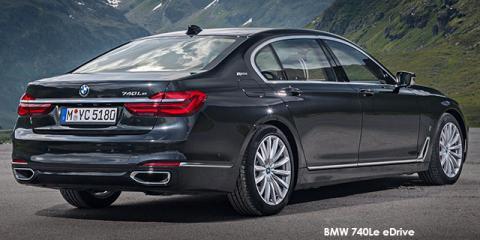 BMW 740e eDrive - Image credit: © 2019 duoporta. Generic Image shown.