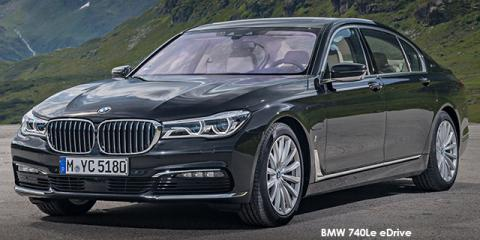 BMW 740e eDrive Design Pure Excellence - Image credit: © 2019 duoporta. Generic Image shown.