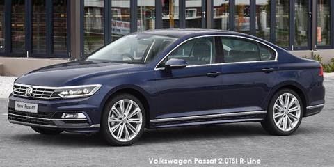 Volkswagen Passat 1.4TSI Luxury R-Line - Image credit: © 2018 duoporta. Generic Image shown.