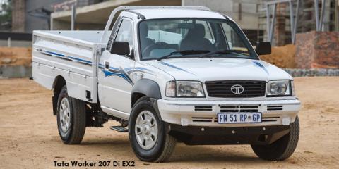 Tata Worker 207 Di EX2 3.0L Turbo - Image credit: © 2018 duoporta. Generic Image shown.