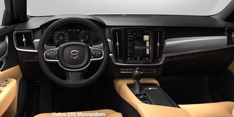 Volvo S90 T6 AWD Momentum - Image credit: © 2019 duoporta. Generic Image shown.