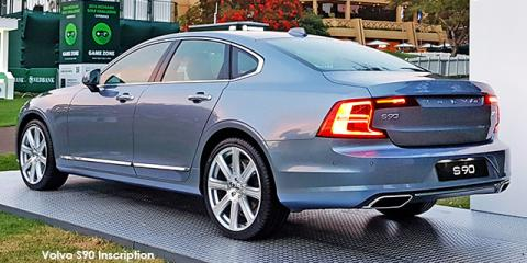 Volvo S90 T6 AWD Inscription - Image credit: © 2018 duoporta. Generic Image shown.