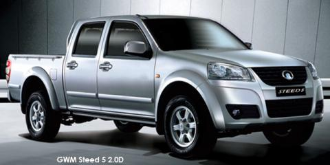 GWM Steed 5 2.0VGT double cab 4x4 SX - Image credit: © 2018 duoporta. Generic Image shown.