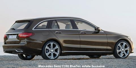 Mercedes-Benz C250d estate Exclusive