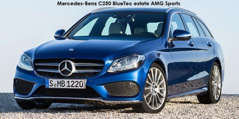 Mercedes-Benz C250d estate AMG Sports