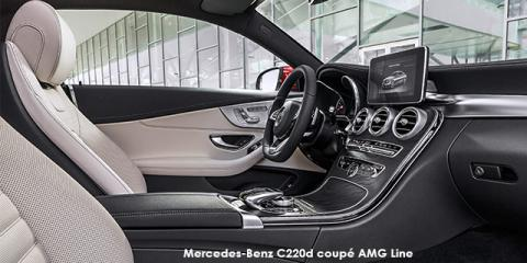 Mercedes-Benz C200 coupe AMG Line