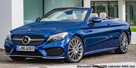 Mercedes-Benz C200 cabriolet AMG Line