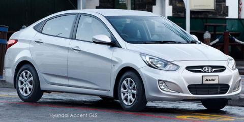 Hyundai Accent sedan 1.6 Fluid - Image credit: © 2020 duoporta. Generic Image shown.