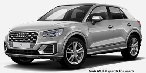 Audi Q2 1.0TFSI sport S line sports auto - Image credit: © 2018 duoporta. Generic Image shown.
