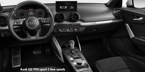 Audi Q2 1.4TFSI sport S line sports auto - Image credit: © 2018 duoporta. Generic Image shown.