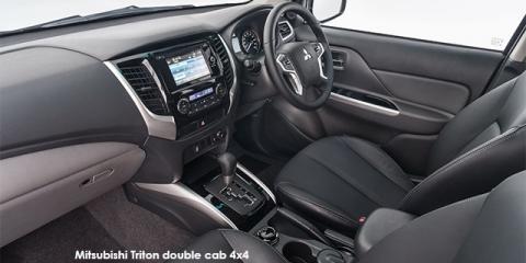 Mitsubishi Triton 2.4DI-D double cab - Image credit: © 2018 duoporta. Generic Image shown.